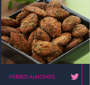 Herbed Almonds